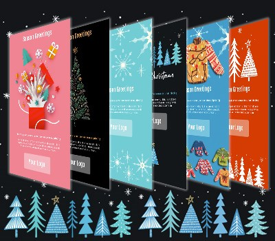 Our Free Christmas Email Templates Have Arrived!